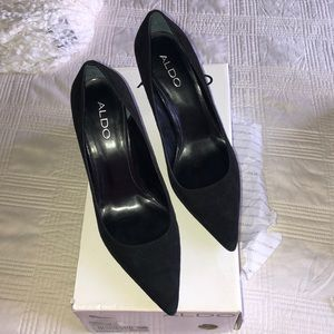 Aldo black ante  shoes 7